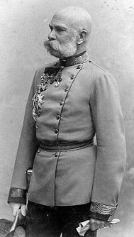 Austro-Hungarian Commander in Chief, Emperor Franz Joseph I