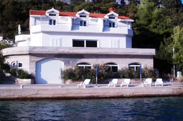 Apartments Livia - view from the sea